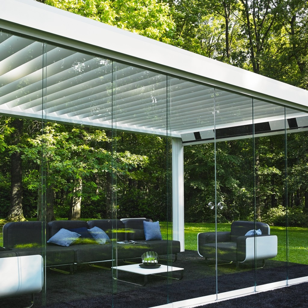 denk metallbau terrassendach lamellendach qbus vordach. Black Bedroom Furniture Sets. Home Design Ideas