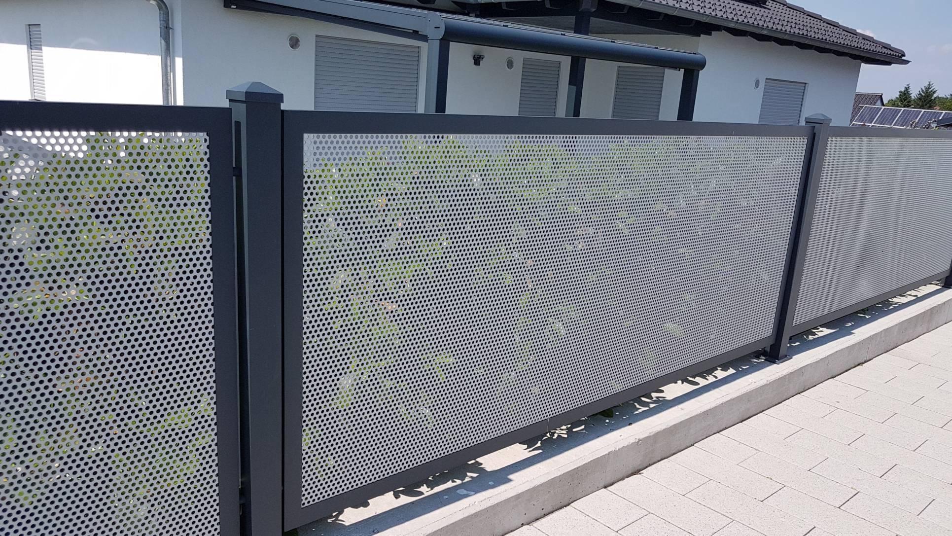 Denk Metallbau Aluminium Balkon Zaun Gelander Turgitter